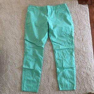 Mint Green The Limited Pants